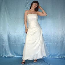 Sans Manches Corsets Robe de Mariée avec Tulle * S (38) Ivoire Mariée, Bal