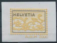 [328427] Switzerland 2000 good Tissue Souvenir Cinderella sheet very fine MNH