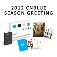Cnblue 2012 Seasons Greeting Calendar + Planner + Sticker + Postcard Box Set