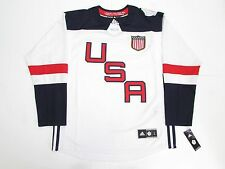 TEAM USA WHITE 2016 WORLD CUP OF HOCKEY ADIDAS PREMIER HOCKEY JERSEY