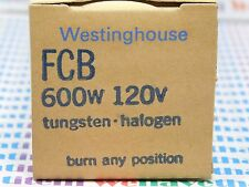 FCB / TUNGSTEN-HALOGEN PROJECTION LAMP, BULB / 120V 600w / 1 PIECE (qzty)