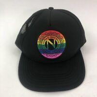 Ninkasi Brewing Unisex Baseball Trucker Hat Eugene Oregon Rainbow Pride One Size