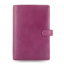 Filofax Personal Size Finsbury Organiser Diary Raspberry Leather -025305