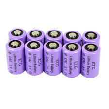 10 PCS CR2 Lithium Batteries 3V Camera 800mAh Expiration 2020