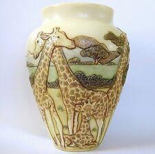 High and Mighty - Jardinia - NIB - Giraffe Vase - MPS Harmony Kingdom