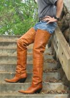 Made to order 31 inch tall or lower shaft height any color available 4 inch heel