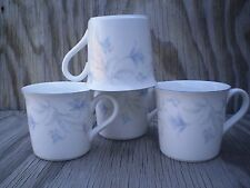 New Decade By Noritake May Breeze Cups Mugs Set Of 4 Made In Japan