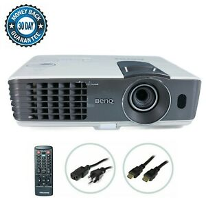 Benq MX711 DLP Projector Portable 3D 3200 ANSI HD 1080p HDMI w/Accessories