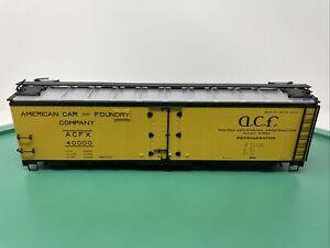 Atlas O 40' Steel Box Car - Missing Trucks & Couplers - ACFX