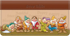 Snow White & The Seven Dwarfs Leather Checkbook Cover