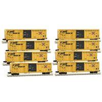 MTL MICRO TRAINS N 993 00 816 *RAILBOX* (8) RUNNER PACK BOX CARS Separate RD #s