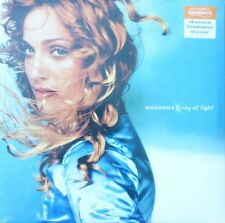 MADONNA -:RAY OF LIGHT - BLUE VINYL - SAINSBURYS LTD UK RELEASE OF 1000 - SEALED