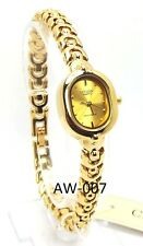 New Citizen Ladies Gold-tone, Gold round-dial Dress Watch