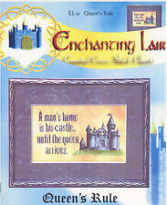 Enchanting Lair Queens Rule Mans Castle Counted Cross Stitch Pattern