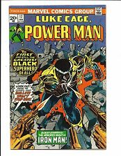 LUKE CAGE, POWER MAN # 17 (IRON MAN APP. FEB 1974), VF