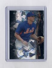 GAVIN CECCHINI 2014 STERLING BLACK ATOMIC REFRACTOR AUTO RC ROOKIE #10/10 METS