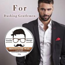 30g 100% Natural Organic Styling Beard Wax Moustache Balm Beeswax Moisturizing