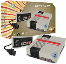 RetroN Grigio HD ✔ ✔ NES Hardware Real ✔ Giochi Retrò ✔ PAL/NTSC ✔ NES MINI ✔