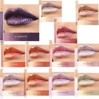 FOCALLURE Metallic Lip Gloss Waterproof Long Lasting Moisturizing Liquid 18