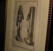 [EGYPTE EGYPTOLOGIE GRAVURE] MONTFAUCON - isis. C. 1720.