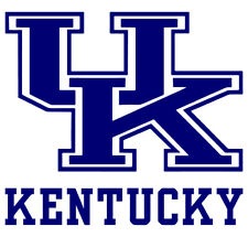 Kentucky Wildcats Logo NCAA Vinyl Wall Decal Stickers Decor Cornhole Bedroom