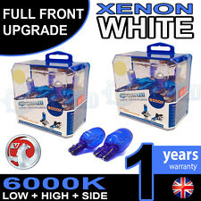 INSIGNIA 11-on Xenon Bianco UPGRADE KIT FARO ANABBAGLIANTE falda alta Lampadine 6000K