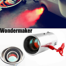 Universal Car Auto LED Exhaust Pipe Spitfire Red Light Flaming Muffler Tip WM