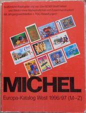 Catalogue Michel, Europe de l'Ouest (partie 2, M à Z), 1996-1997