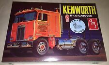 AMT Kenworth K-123 Cabover 1/25 scale model truck kit with bonus decal sheet 687