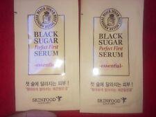 SkinFood Black Sugar Perfect First Serum 2X Essential Sample NEW