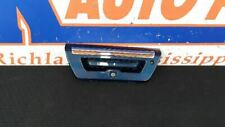 15 FORD F150 REAR TAILGATE HANDLE WITH CAMERA BLUE AND CHROME