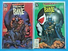 BATMAN VENGEANCE OF BANE #1 & 2