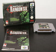 Nintendo 64 Rainbow Six PAL EUR CIB Complete