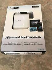 D-Link Mobile Companion DIR-505 10/100 Wireless N Router (DIR-505) Brand New FS