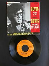 Elvis Presley - Patch It Up - RCA-Victor 47-9916 w/PS near mint disc