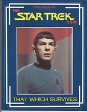 Star Trek Files That Which Survives Season 3 Episode Guide Files Magazine