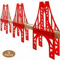 OrgMemory Train Bridge, 3 Suspension Bridge, Wooden Train Bridge, Train Tracks