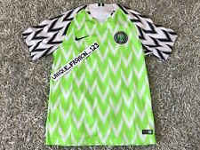 Nike Nigeria World Cup 2018 Home Jersey Shirt M Super Eagles Medium - Authentic
