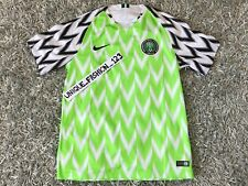 NIKE NIGERIA WORLD CUP 2018 HOME JERSEY SHIRT M SUPER EAGLES MEDIUM - AUTHENTIC