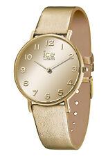 Ice Watch City Mirror gold, spiegelnd Damen Armbanduhr Small 014434