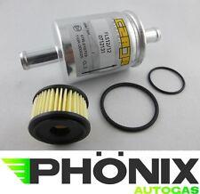 Autogas Filter-Set mit Valtek-Einsatz mit Dichtung + Gasfilter 12mm-12mm KME LPG