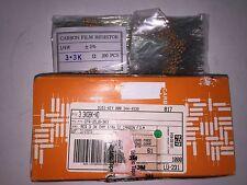 200 PIECES Resistors 3.3K 3K3 Ohms OHM 1/4W 5% Carbon Film CFR-25JB-52-3K3 ROHS