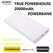 Powerbank JOWAY JP-118 20000mAh 2-Port USB Mobile iPhone Tablet Android