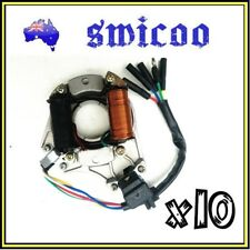 10xMagneto Stator Plate Rotor 50cc 90cc 110cc 125cc Dirt Bike Quad Buggy E/Start