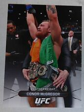 Conor McGregor UFC 2016 Topps High Impact Card #50 202 196 194 189 178 w/ Belt