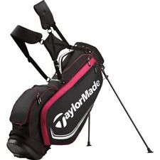 New TaylorMade Golf Custom Stand 4.0 Stand Bag - Black/Fuchsia