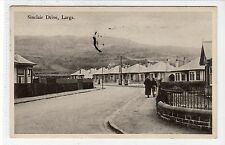 SINCLAIR DRIVE, LARGS: Ayrshire postcard (C17103)