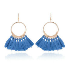 Women Fashion Bohemian Boho Earrings Long Tassel Fringe Dangle Earrings Jewelry