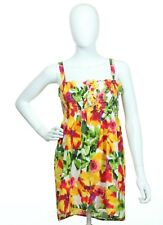 Xhilaration Women's Multi-Color Floral Sleeveless  Strap Top Blouse  X-Large 16
