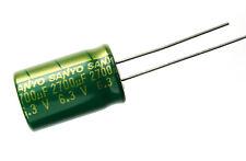 New 10pcs Sanyo 2700uf 63v 105c Radial Electrolytic Capacitor